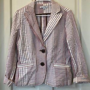 CAbi Nautical Cotton Blazer